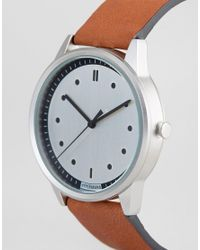 HyperGrand - Multicolor Classic Honey Leather Strap Watch - Lyst