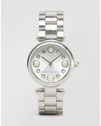 Marc Jacobs - Metallic Silver Dotty Watch Mj3475 - Silver - Lyst