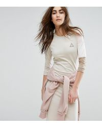 Le Coq Sportif | Multicolor Exclusive To Asos Tricolour Sweat Dress In Neutrals | Lyst