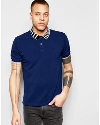 Izzue - Red Polo for Men - Lyst
