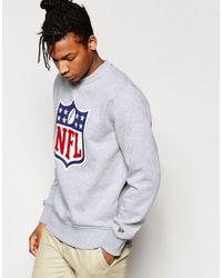 KTZ | Gray Nfl Shield Sweatshirt for Men | Lyst
