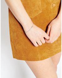 Astrid & Miyu - Metallic Strid & Miyu Libra Zodiac Bracelet - Lyst