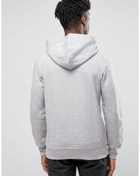 Adidas Originals - Gray Trefoil Zip Hoodie Az1121 for Men - Lyst