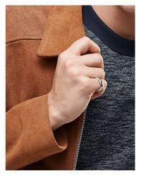 Icon Brand - Metallic Premium Band Ring In Silver - Silver for Men - Lyst