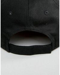 PUMA - Black Classic Logo Snapback Cap - Lyst