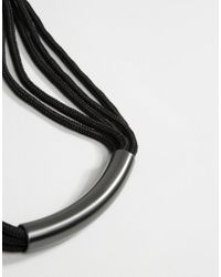 Pilgrim - Natural Tube Detail Necklace - Lyst