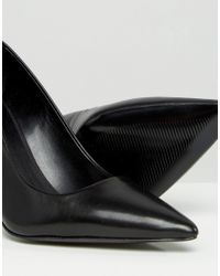 ALDO | Black Ldo Simple Court Shoes | Lyst