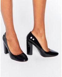 ASOS | Black Posh High Heels | Lyst