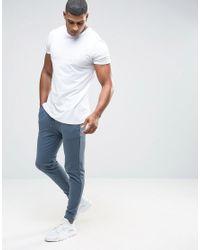 ASOS - Skinny Joggers In Blue for Men - Lyst