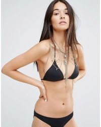 New Look - Black Premium Body Chain - Lyst