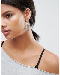 ASOS - Multicolor Geo Link Earrings - Lyst