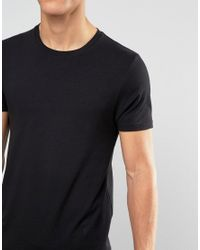 ASOS - 3 Pack Longline Muscle T-shirt Save 13% In White/black/green for Men - Lyst