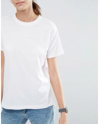 ASOS | Multicolor Linen Mix T-shirt 2 Pack Save 15% | Lyst