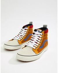 9bd3f4a8309663 Vans Sk8-hi Mte Trainers In Brown Vn0a33txuc9 in Yellow for Men - Lyst