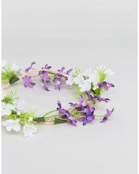 ASOS - Multicolor Festival Wild Flower Hair Wrap - Lyst