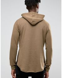 Criminal Damage - Multicolor Hoodie With Raw Hem for Men - Lyst