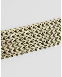 Missguided - Metallic Chain Choker Necklace - Lyst