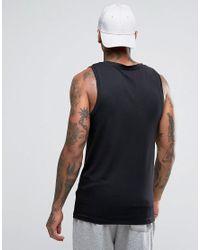 ASOS - Muscle Singlet In Black for Men - Lyst