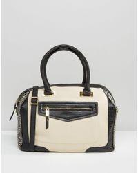ALDO - Black Ldo Tote Bag With Front Pocket - Lyst