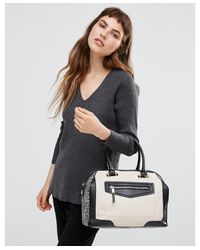 ALDO - Black Ldo Tote Bag With Front Pocket - Lyst