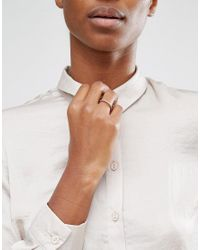 Dogeared | Metallic Maya Angelou Legacy By Sterling Silver Thrive Engraved Reminder Ring | Lyst