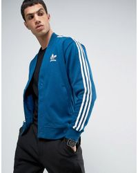 Adidas Originals - Blue Cardigan for Men - Lyst