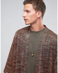 Love Bullets - Metallic Lovebullets Diamond Shape Pendant Necklace In Gold - Gold for Men - Lyst