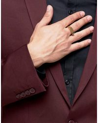 Vitaly - Metallic Odak Gold Ring for Men - Lyst