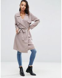 Pepe Jeans | Natural Charlena Classic Trench | Lyst