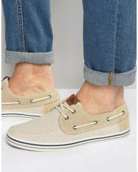 ALDO | Natural Huhha Boat Shoes for Men | Lyst