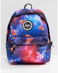bed2d3ff4aaa Hype Backpack In Pizza Print in Blue for Men - Lyst