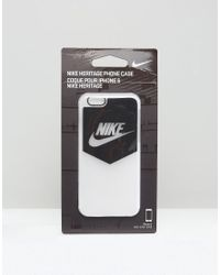 Nike | Heritage Iphone 6 Case In Black for Men | Lyst