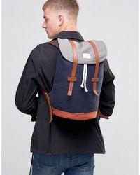 Sandqvist - Multicolor Stig Backpack In Multi for Men - Lyst