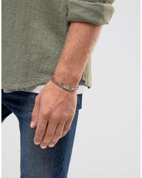 Classics 77 - Metallic Burnished Aztec Bangle Bracelet In Copper for Men - Lyst