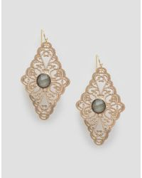 Nylon | Metallic Vintage Style Earrings | Lyst