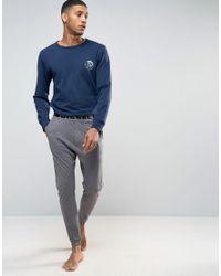 DIESEL | Gray Lightweight Cuffed Joggers In Regular Fit Grey for Men | Lyst