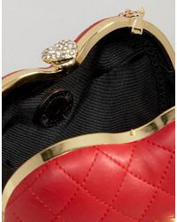 Love Moschino - Structured Heart Cross Body Bag - Lyst