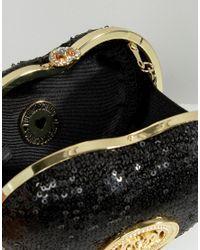 Love Moschino - Black Sequin Shoulder Bag - Lyst