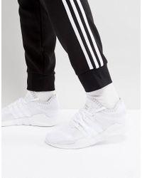 adidas originals eqt sind primeknit ausbilder in weißen by9391 unterstützen