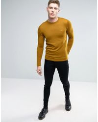 Lindbergh | Multicolor Jumper In Camel Merino Wool for Men | Lyst