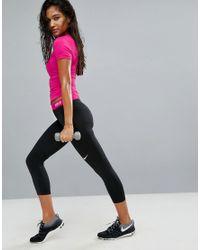 Nike | Black Pro Training Cool Capri Leggings | Lyst