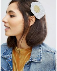 ASOS - Multicolor Limited Edition Glitter Egg Hair Clip - Lyst