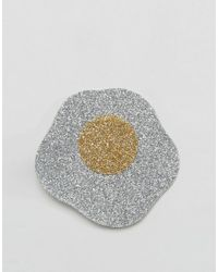 ASOS - Multicolor Limited Edition Glitter Egg Hair Clip - Lyst