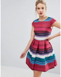 Ted Baker. Women s Stripe Full Skater Dress 8e3628de9