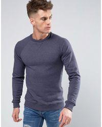 Blend | Blue Crew Neck Sweater for Men | Lyst