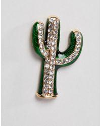 ASOS - Multicolor Cactus & Sombrero Badge Set - Lyst