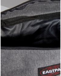 Eastpak - Gray Springer Bumbag In Grey - Lyst