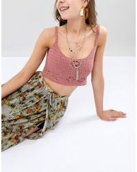 Ashiana - Metallic Pendant Necklace - Lyst