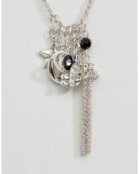 ASOS - Metallic Interchangeable Charm Necklace - Lyst