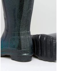Hunter - Blue Original Neptune Starcloud Tall Wellington Boots - Lyst